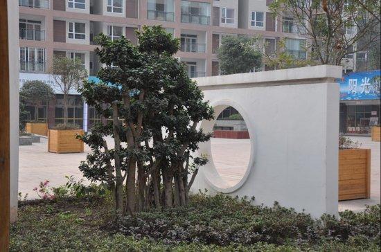 金泉·阳光花园 花园大盘日臻完美