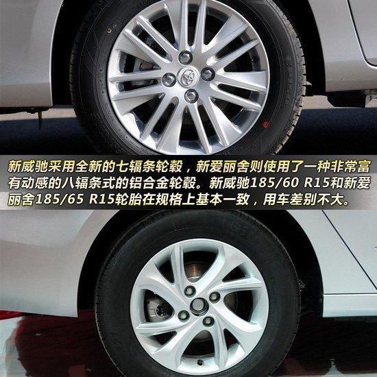 新威驰对比新爱丽舍  经济舒适三厢车比拼