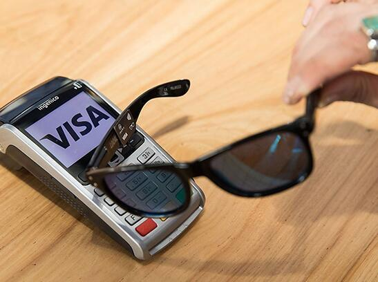 支付新花样!忘带钱包这款墨镜也能搞定