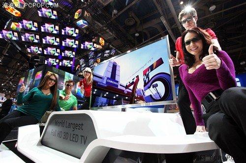 三星显示器亮相CES 引领更智能的生活