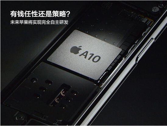 为长远考虑 未来苹果将实现完全自主研发