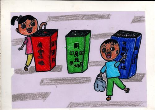 18幅小学生漫画《守则》蹿红 让正能量一目了图片