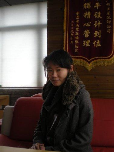 美星装饰公司设计师——杨夏薇