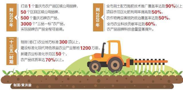 重庆市政府出台意见 加强农产品品牌建设工作