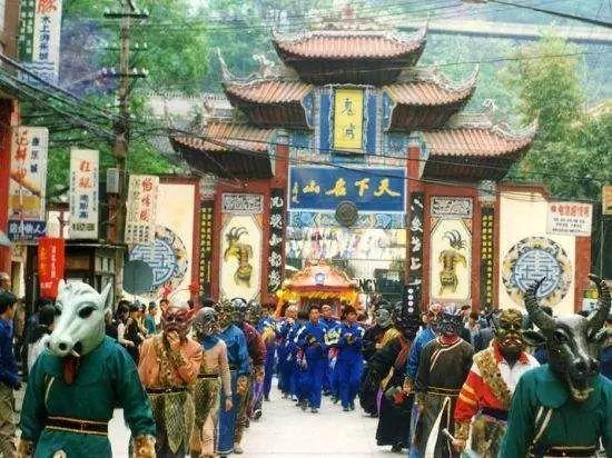 丰都庙会大巡游微视频 3分钟走过30年的大巡游