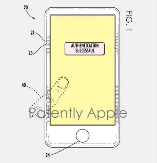 新iPhone升级有戏 苹果获无边框专利