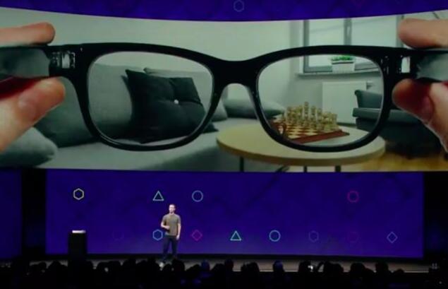 Facebook预测AR眼镜5年后比智能手机流行