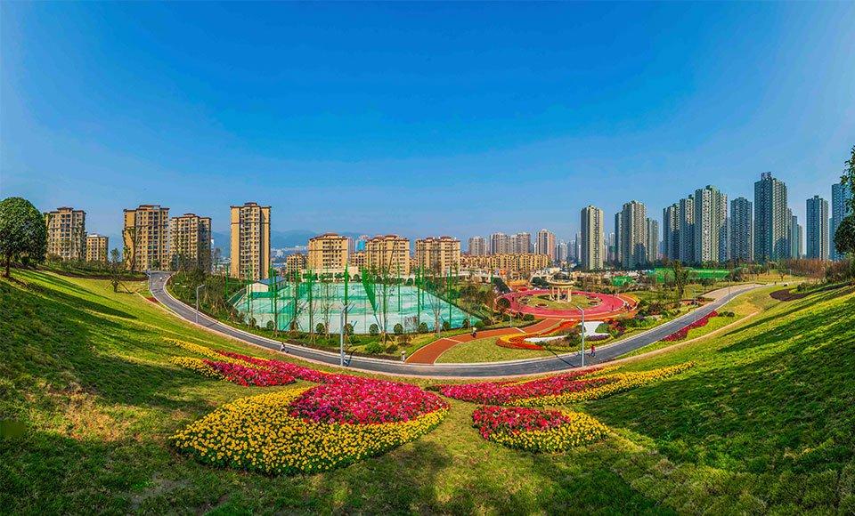 九龙坡区宜居的环境 为楼宇经济发展奠定基础 杨孟摄