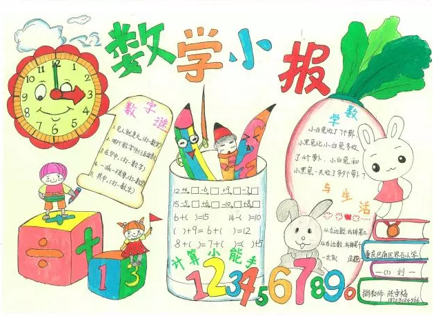 重庆首届数学文化节手抄报获奖名单