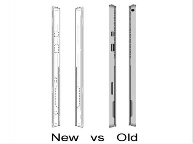 疑Surface Pro5外形曝光:支持USB-C接口