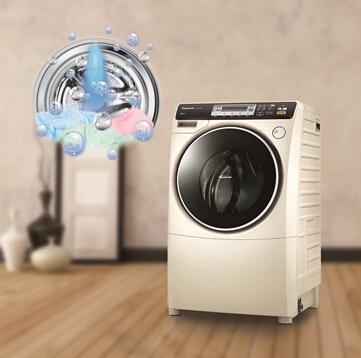 """新年""""购""""健康 松下阿尔法滚筒洗衣机呵护全家"""