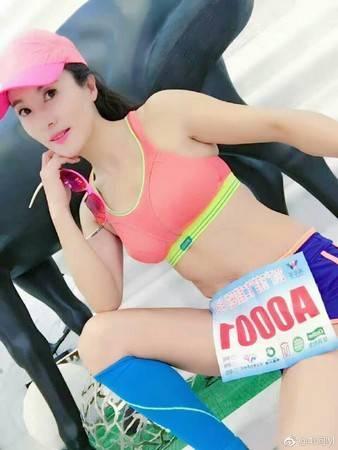 刘叶琳运动照
