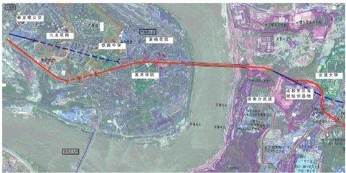 黄桷坪长江大桥规划 九龙半岛直通茶园