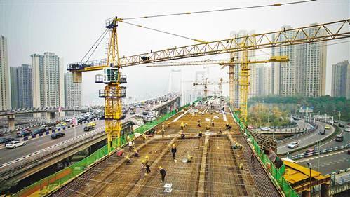 重庆轨道交通环线正在加紧施工 预计2018年通车_大渝网_腾讯网