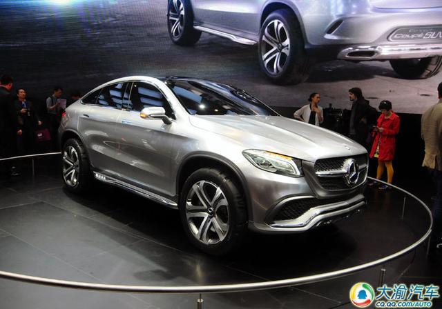 2014北京车展:奔驰Coupe SUV概念车发布