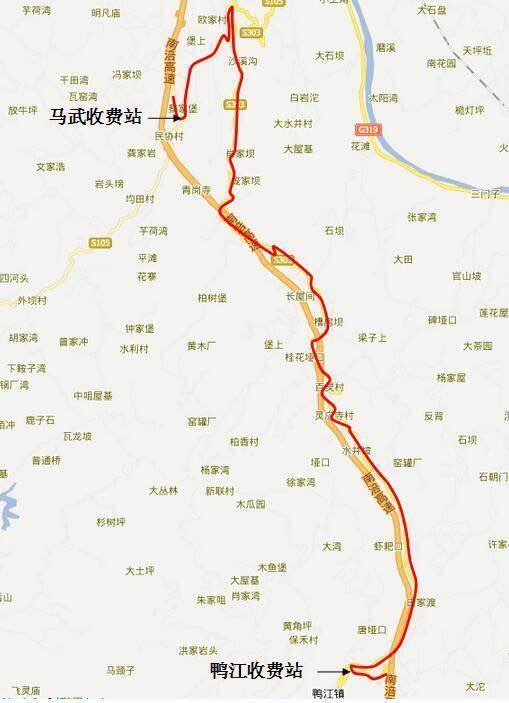南涪高速4月24日-26日夜间部分路段封闭检测 绕行看这里