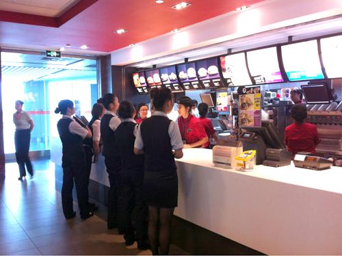 麦当劳正式入驻重庆江北国际机场