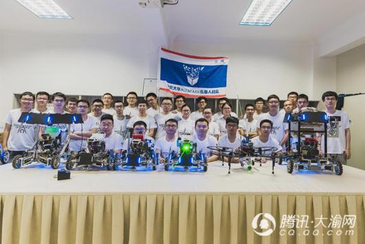 全国大学生机器人大赛 重庆大学Allspark战队晋级总决赛