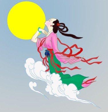 后裔射日嫦娥奔月-民间关于中秋节的各种传说