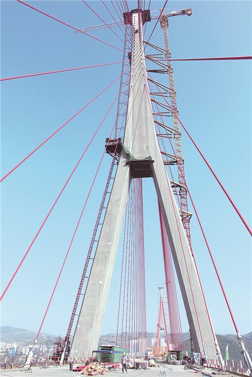 丰都长江二桥预计今年10月完成梁段安装工程