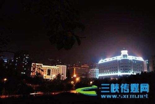云阳春节前实现城区夜景亮化图片