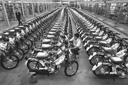 合资品牌降身段国产摩托开打价格战