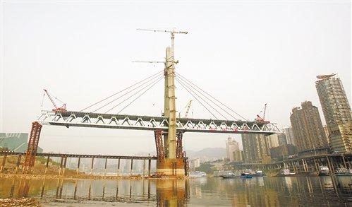 两江大桥年底竣工通车 施工建设创六项世界纪录