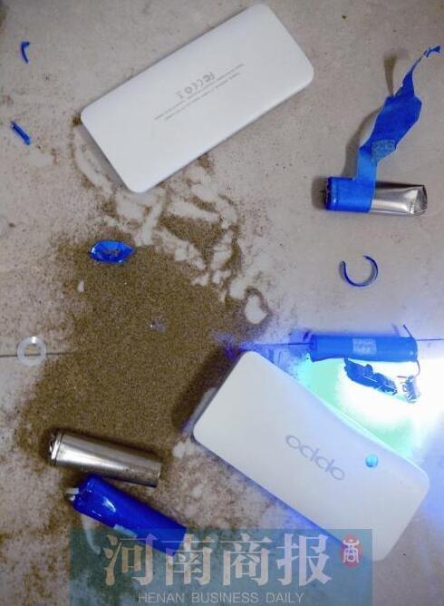 用户买充电宝救急:电池内竟是沙子