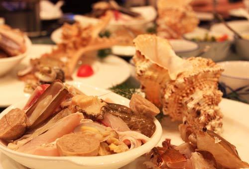 酒店海鲜美食节_丽苑大酒店海鲜火锅美食节58元起品养生美食