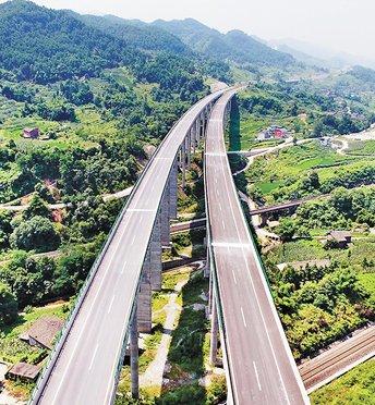渝广高速重庆段一期通车 重庆50分钟到广安