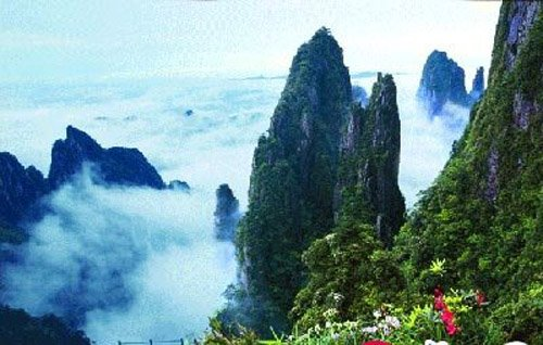 重庆城口旅游景点——青龙溪