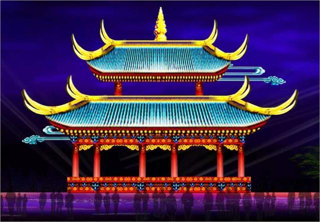 重庆百年遗迹首次以灯亮相!春节不去这里打卡就白过了