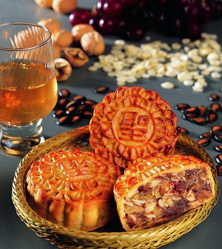 厨房制造广式月饼 美味滋味等你来尝