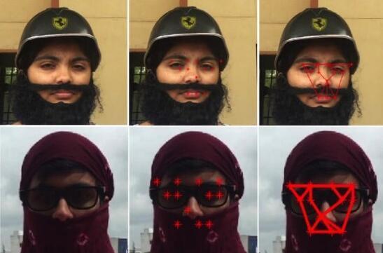 这套人脸识别系统能看穿面部伪装