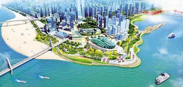 投资5.69亿元!江北城滨江段两年后全新亮相
