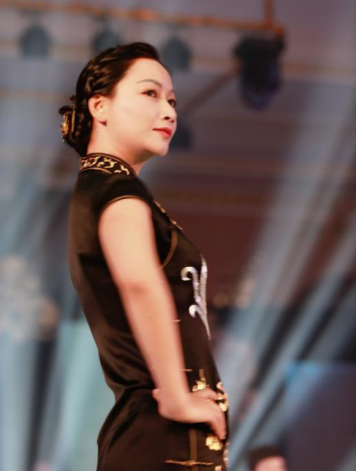 首届重庆旗袍秀大赛4月23日在垫江牡丹樱花世界开赛