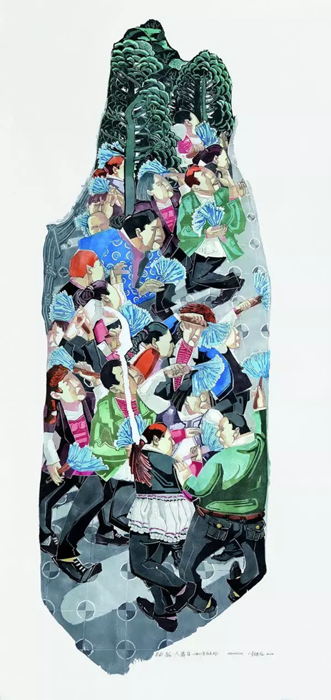 重庆美术馆馆藏作品展(版画人物) 生命与生活的体悟