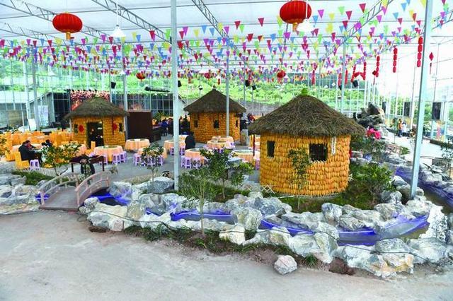 这是珍溪镇最大规模的集农业观光,生态垂钓,儿童乐园,果品采摘,宴会图片