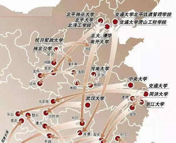 华东交通大学手绘地图