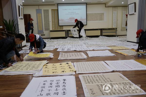 第五届重庆青少年书画大赛收到作品2400幅 现开始评审