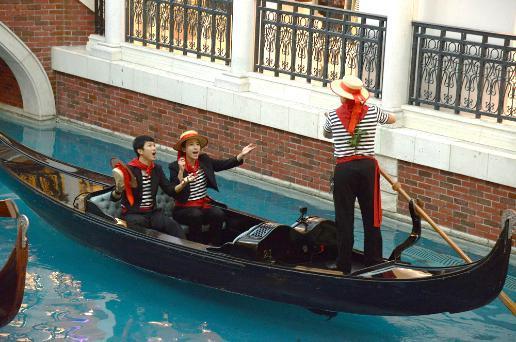 《极速前进》中国版到澳门金沙度假区取景拍摄