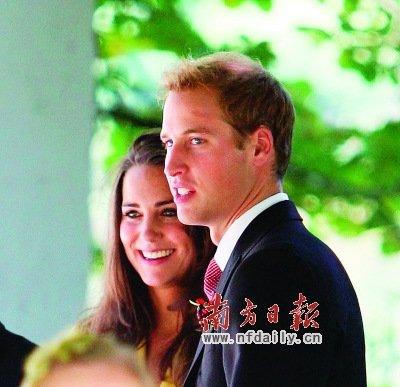 威廉王子大婚 从皇室婚礼看现代婚姻爱情