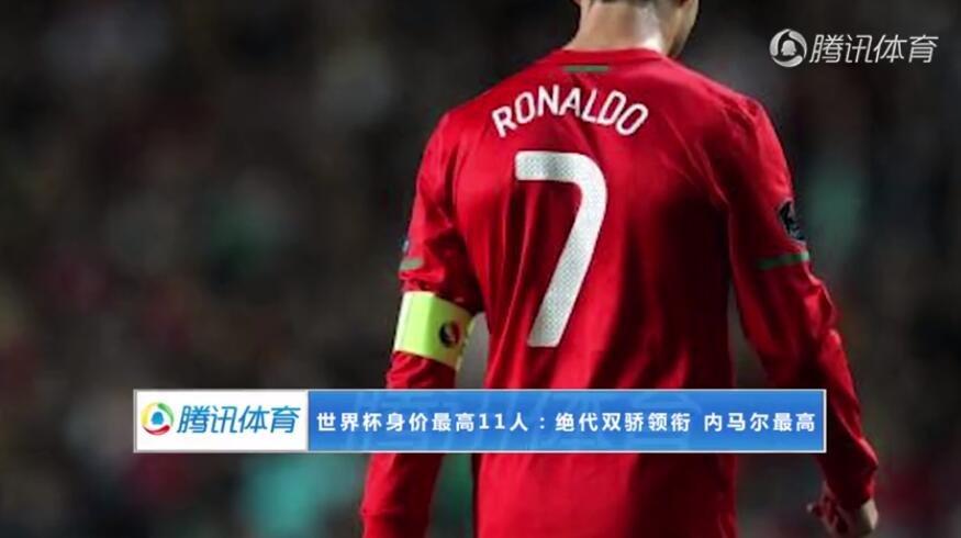 【策划】世界杯身价最高11人:绝代双骄领衔 内马尔刷新身价纪录