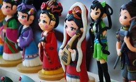 80后女大学生私人订制陶像 年销百万