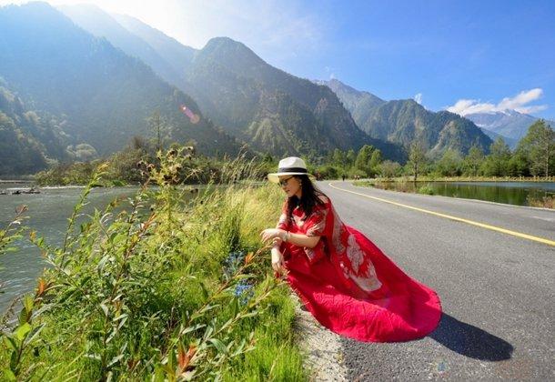【伴旅出行】微步调,慢时光,探寻理县夏风光