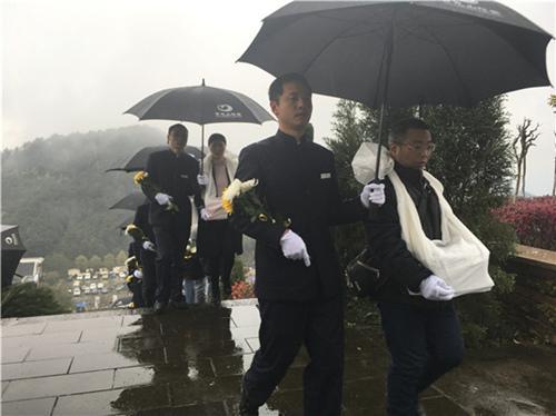 清明来临涪陵开展惠民殡葬 44名逝者骨灰获免费安葬