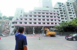 重庆港客运大楼将爆破 朝天扬帆项目下月开建