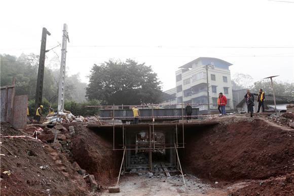 永川双石镇增设人行地下通道 方便4000群众出行