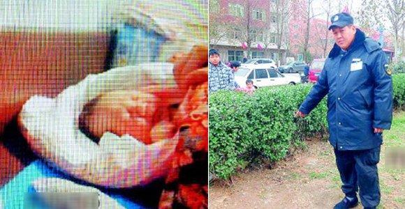 女大学生未婚产子 把男婴弃于小区绿化带上