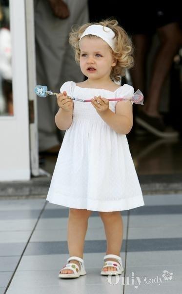 可爱无国界 西班牙王室小公主